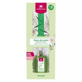 Ambientador varillas dama de noche Cristalinas 45 ml.