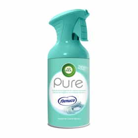 Ambientador aerosol Pure Nenuco Air Wick 250 ml.