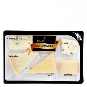 Tabla queso mini gourmet