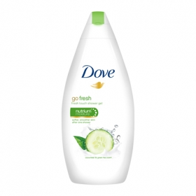 Gel de ducha fresh touch Dove 500 ml.