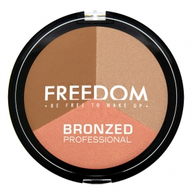 Polvo bronceadores Bronzed Proffesional Shimme