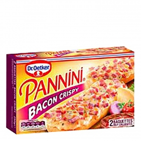 Pannini bacon crispy Dr. Oetker 250 g.