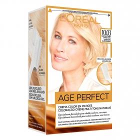 Tinte age perfect nº 10.03 Rubio muy Claro Dorado Sutil L'Oréal Excellence 1 ud.