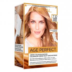 Tinte age perfect nº 7.32 Rubio Dorado Perla L'Oréal Excellence 1 ud.