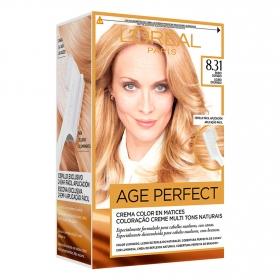Tinte age perfect nº 8.31 Rubio Dorado L'Oréal Excellence 1 ud.