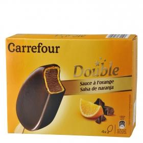 Helado de Chocolate y Naranja