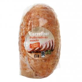 Pollo relleno asado Carrefour sin gluten 800 g.
