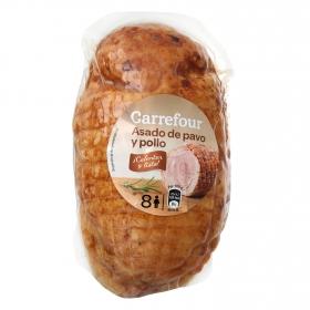 Asado de pavo y pollo Carrefour sin gluten 800 g.
