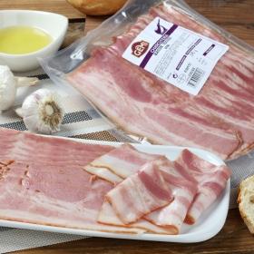 Bacon ahumado sin piel