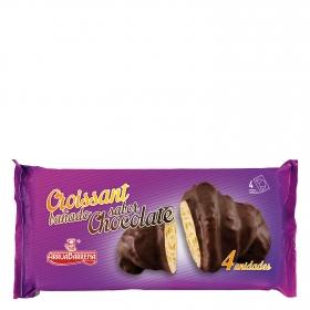 Croissant bañado sabor chocolate