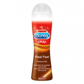 Lubricante Real Feel Love Sex Durex 50 ml.
