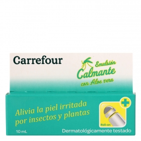 Emulsión calmante con aloe vera en roll-on