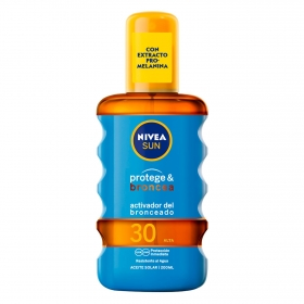 Spray solar Protege & Broncea FP 30 Nivea 200 ml.