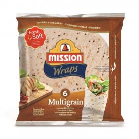 Wraps de harina de trigo multicereales