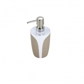 Dosificador de baño de la gama Kandy 7,5cm  topo