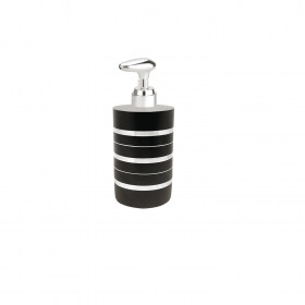 Dosificador de baño de la gama Stendal 6,2cm Metalizado