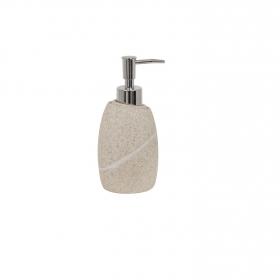 Dosificador de baño de la gama Malua 7,8cm  Beige