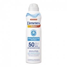 Spray protector invisible para piel mojada FP 50