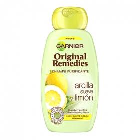 Champú purificante con arcilla suave y limón