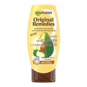 Acondicionador antiencrespamiento con aceite de aguacate y manteca de karité