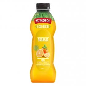 Zumo de naranja ecológico Zumosol exprimido botella 75 cl.