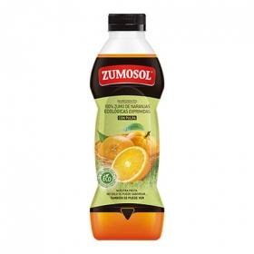Zumo de naranjas ecológicas con pulpa