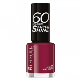 Esmalte de uñas 60 seconds super shine nº 340 Berries and Cream