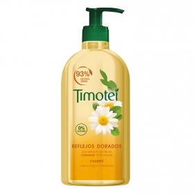 Champú reflejos dorados para cabello rubio o con mechas Timotei 750 ml.