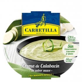 Crema campestre de calabacín con queso parmesano Carretilla 300 g.