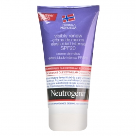 Crema de manos elasticidad intensa Neutrogena 75 ml.