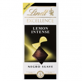 Chocolate negro intenso con limón Lindt Excellence 100 g.