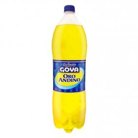 Refresco Goya oro andino con gas botella 2 l.