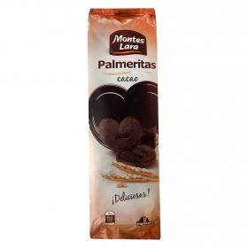 Palmeritas de cacao Montes Lara 240 g.