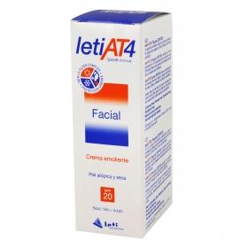 Crema emoliente facial letiAT4 FP 20