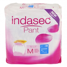 Absorvente Pant plus Talla Media