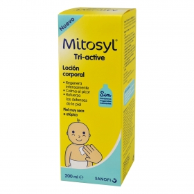 Loción corporal Triactive para piel seca