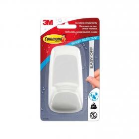 Gancho adhesivo de Plástico Water Res 6 x 4 x 11 cm Blanco