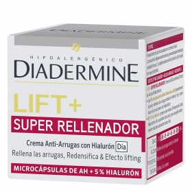 Crema de día anti-arrugas Lift + Super Rellenador Diadermine 50 ml.