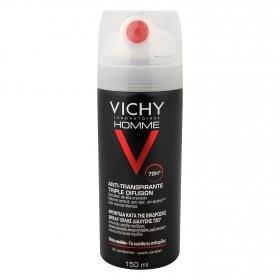 Desodorante Triple Difusión 72h para hombre Vichy 50 ml.