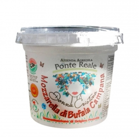 Queso Mozzarela de Bufala Campana Ciuffo Hispano Italiana 250 g