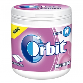 Chicles bubblegum Orbit 60 ud.