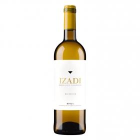 Vino D.O. Rioja blanco fermentado en barrica Izadi 75 cl.