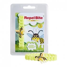 Pulsera repelente de insectos para niños