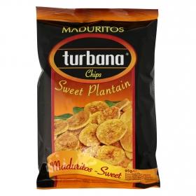 Chips de platanitos maduritos