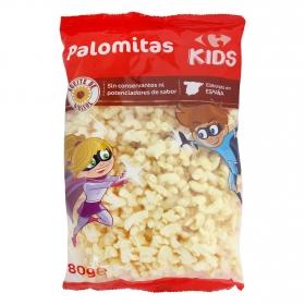 Palomitas sabor mantequilla Carrefour Kids 80 g.