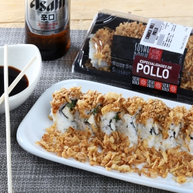Crunch Roll de pollo