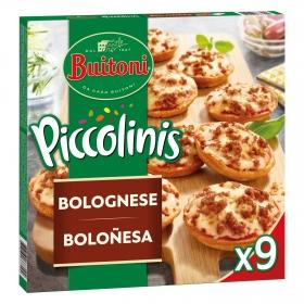 Piccolinis boloñesa