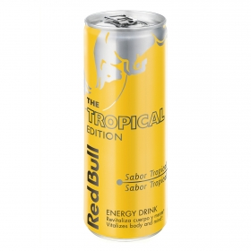 Bebida energética Red Bull The Tropical Edition 25 cl.