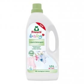 Detergente para ropa de bebé líquido ecológico Frosch 1,5 l.