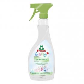 Quitamanchas ropa bebé spray ecológico Frosch Baby 500 ml.
